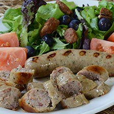 Pheasant Sausage with Cognac