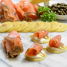 Scottish Gravlax Smoked Salmon