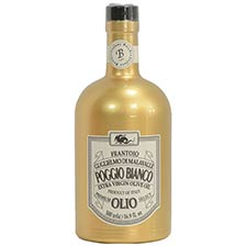 Poggio Bianco Extra Virgin Olive Oil - Gold Bottle