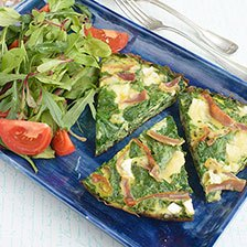 Prosciutto and Goat Cheese Frittata Recipe  | Gourmet Food Store