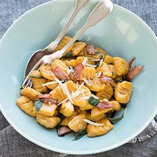 Pumpkin Gnocchi With Grana Padano Recipe