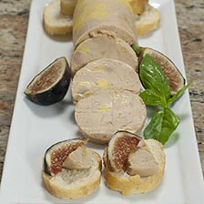 Duck Foie Gras - Micuit / Ready to Eat, En Torchon, by Rougie