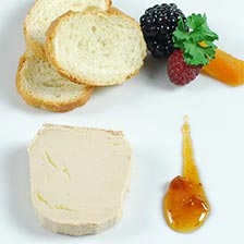 Whole Duck Foie Gras Micuit Marinated in Armagnac Brandy, Jar
