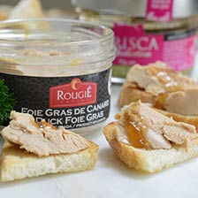 Whole Duck Foie Gras Rougie Micuit | Gourmet Food Store