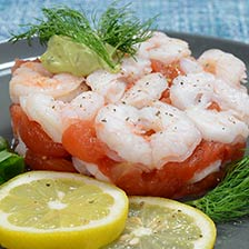 Shrimp and Tomato Compote Appetizer Recipe