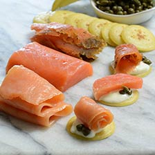Smoked Salmon Sampler Gift Set