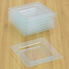 Square Transparent Plate