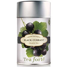 Tea Forte Black Currant Black Tea - Loose Leaf Tea