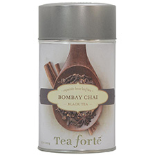 Tea Forte Bombay Chai Black Tea - Loose Leaf Tea Canister