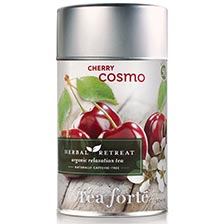 Tea Forte Cherry Cosmo Herbal Tea - Loose Leaf Tea