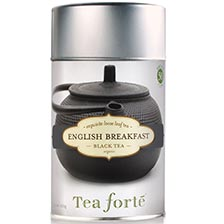 Tea Forte English Breakfast Black Tea - Loose Leaf Tea Canister