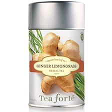 Tea Forte Ginger Lemongrass Herbal Tea - Loose Leaf Tea
