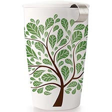 Tea Forte Kati Loose Tea Cup - Green Leaves
