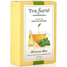Tea Forte Moroccan Mint Green Tea - Event Box, 48 Infusers