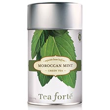 Tea Forte Moroccan Mint Green Tea - Loose Leaf Tea
