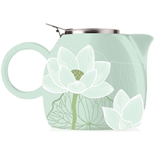 Tea Forte PUGG Ceramic Teapot - Lotus