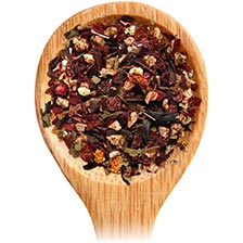 Tea Forte Raspberry Nectar Herbal Tea - Loose Leaf Tea