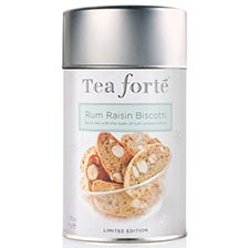 Tea Forte Rum Raisin Biscotti Black Tea - Loose Leaf Tea
