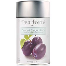 Tea Forte Spiced Ginger Plum Herbal Tea - Loose Leaf Tea