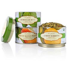 Tea Forte Trio Green Teas - Loose Leaf Tea