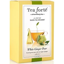 Tea Forte White Ginger Pear White Tea - Event Box, 48 Infusers