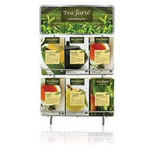 Tea Forte Wire Display Rack
