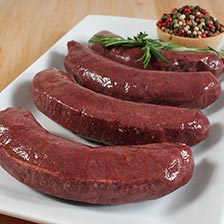 Boudin Noir (Blood Sausage) - 4 Links