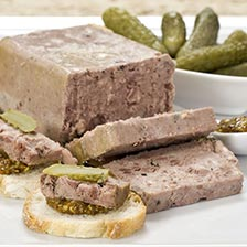 Country Pate with Black Pepper - All Natural