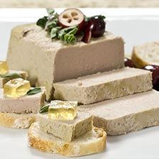 Duck Mousse with Port Wine Pate  - All Natural