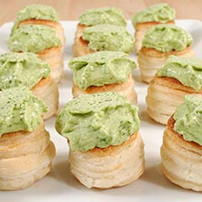 Escargot Achatine in Puff Pastry - Frozen