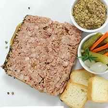 Pate de Campagne with Black Pepper - Traditional