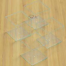 Transparent Cube Container