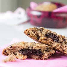 Truffle Heart Chocolate Chip Cookies Recipe