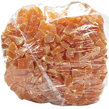 Papaya Chunks - Dried