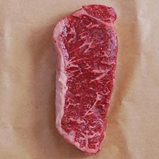 Wagyu Strip Loin, MS3, Whole, Cut To Order