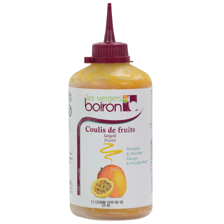 Mango passion fruit coulis for Fruit coulis
