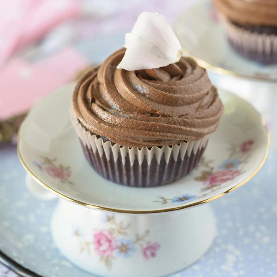 Chocolate Frosted Cupcakes Recipe | Gourmet Food Store