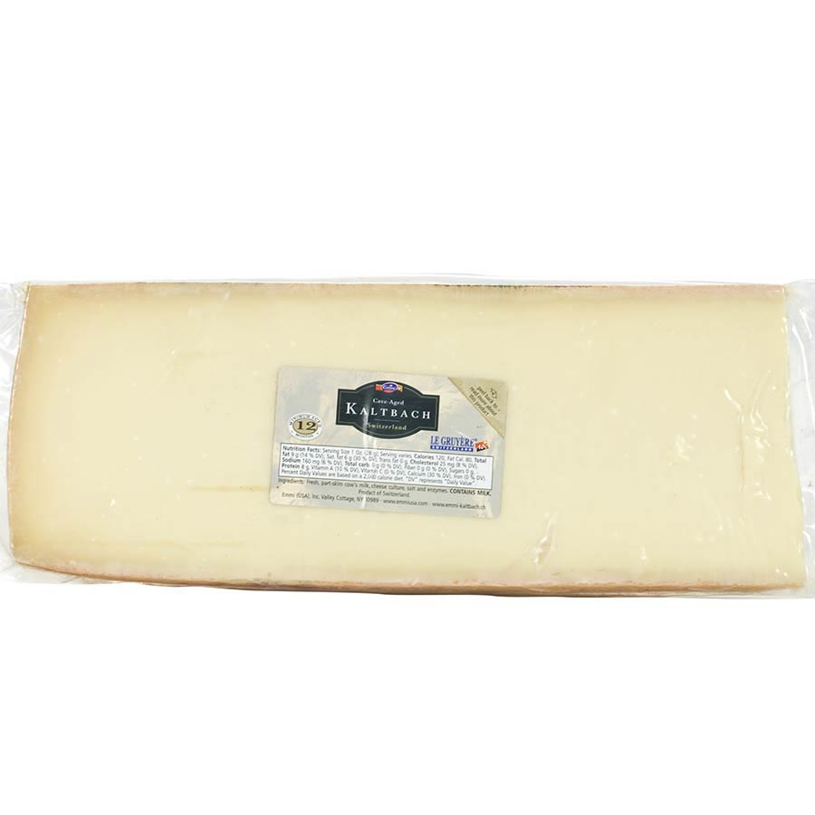 Gruyere Cheese Cave Aged 12 Months