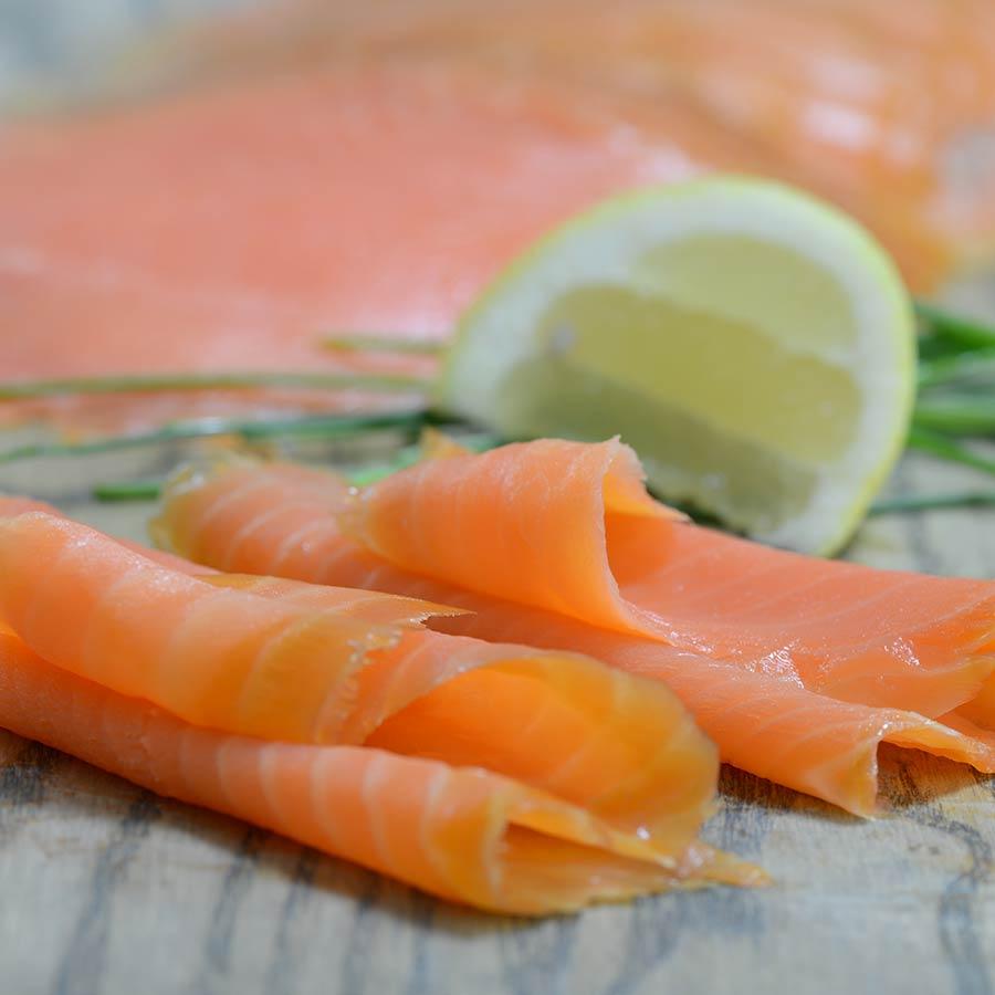 buy norwegian steelhead salmon trout thin sliced smoked