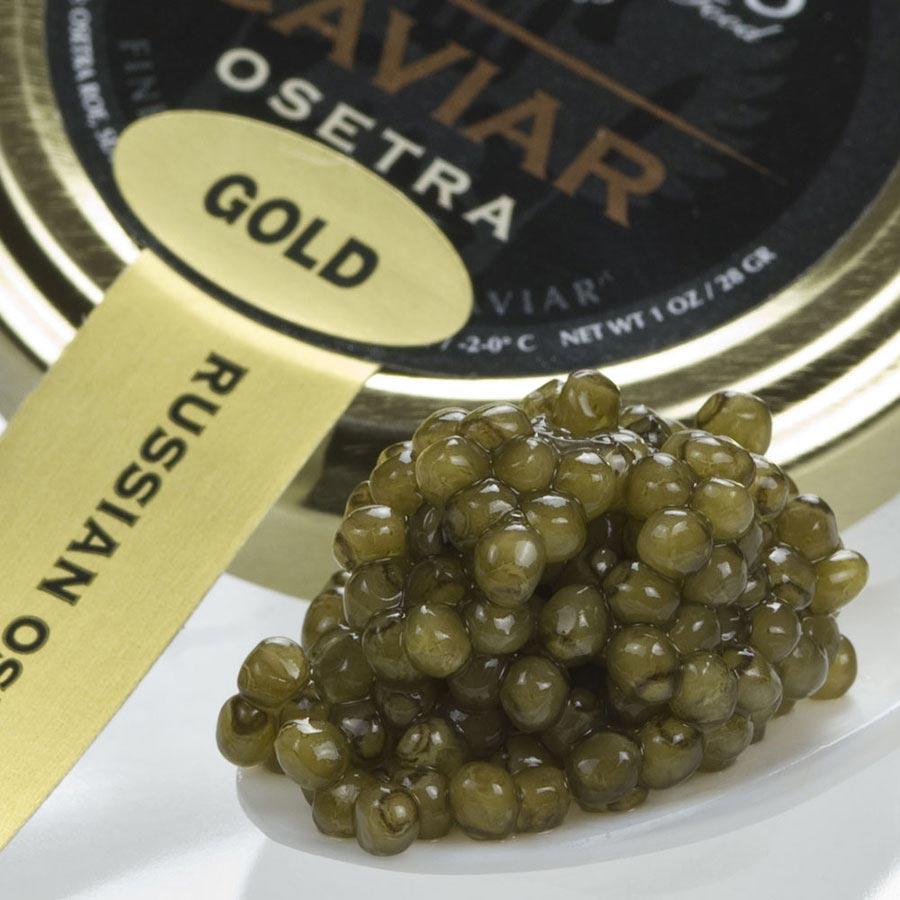 Malossol Caviar Golden Osetra Caviar Osetra Malossol