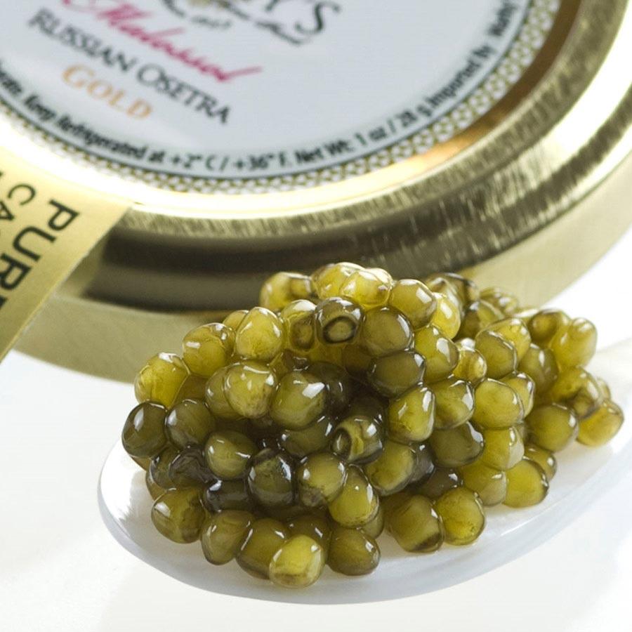 osetra karat caviar malossol gold from israel buy caviar