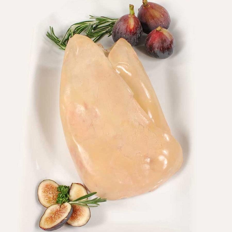 Whole Lobe of Duck Foie Gras - Grade A Grande Cuisine - Flash Frozen by Rougie from Canada - buy ...