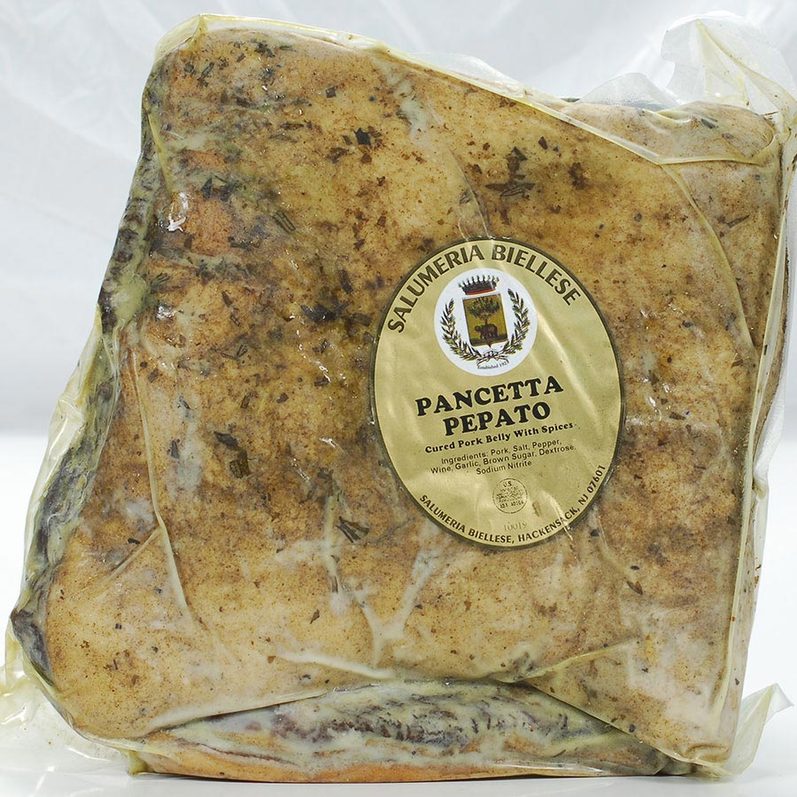 Pancetta Flat by Saluermia Biellese | Buy at Gourmet Food Store