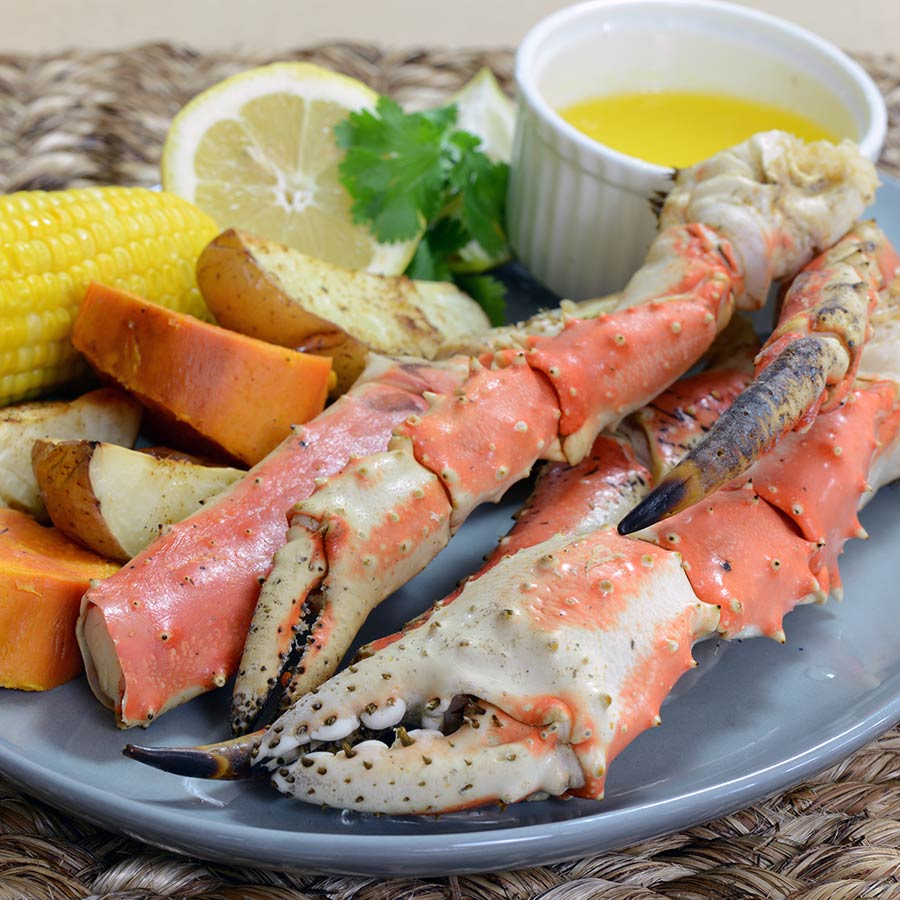 how to clean king crab legs