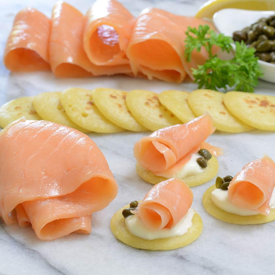 Scottish Smoked Salmon Gift Set Buy Smoked Salmon Online