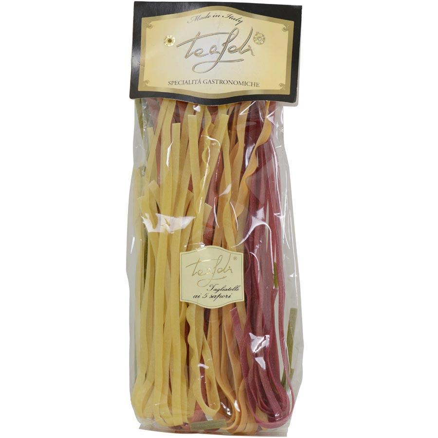 5 Flavored Tagliatelle Pasta