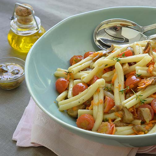 Summer Pasta Salad WithHoney-Thyme Dressing