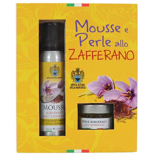 Gift Box: Saffron Mousse & Pearls