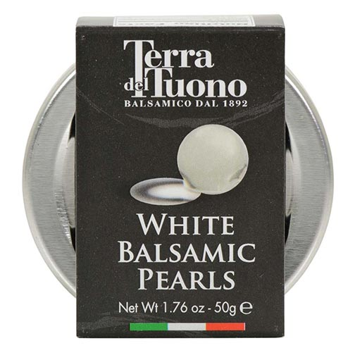 White Balsamic Pearls