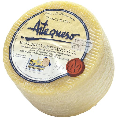 Manchego Cheese - Artisan D.O.P. - Aged 4 months